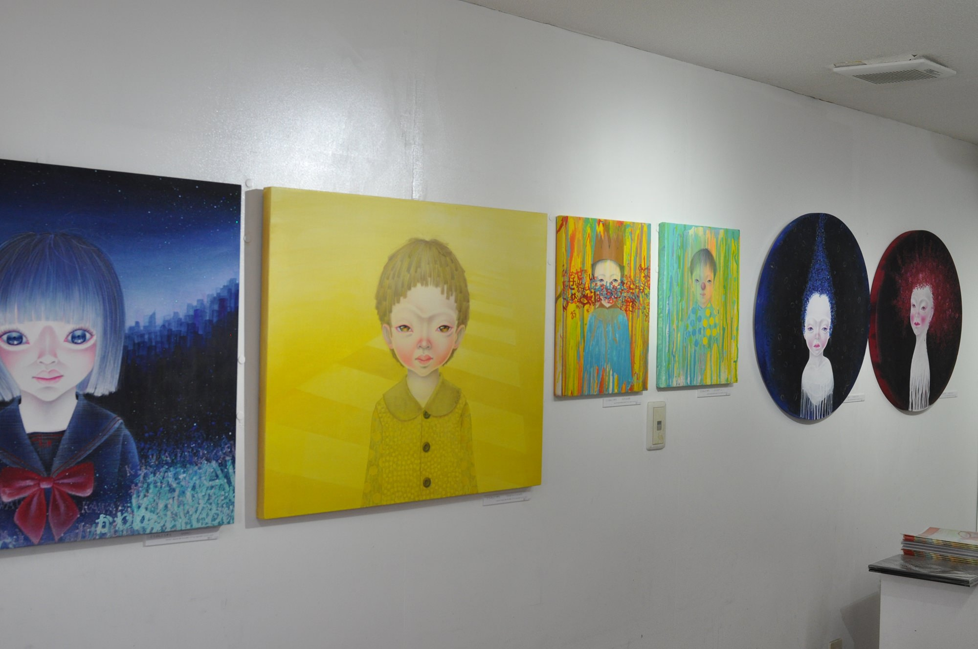 Past Exhibition -Fresh off the isolated edge.- | BandH Gallery