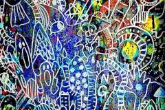 『いつか』-45×37cm-紙、アクリル-2015年